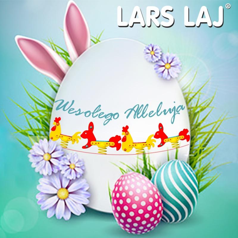 Wesołych Świąt Wielkanocnych życzy firma Lars Laj