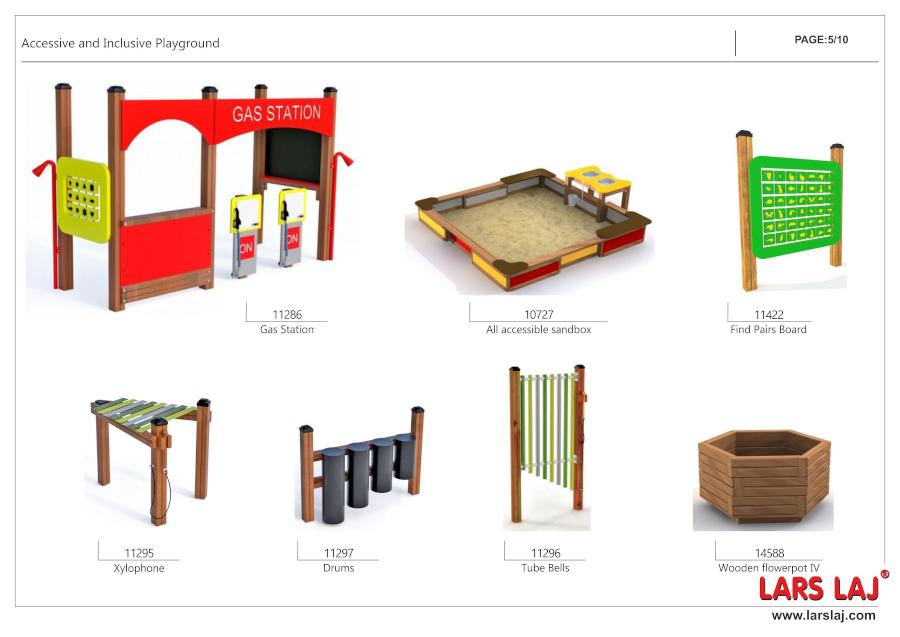 Plac zabaw dla dzieci niepełnosprawnych