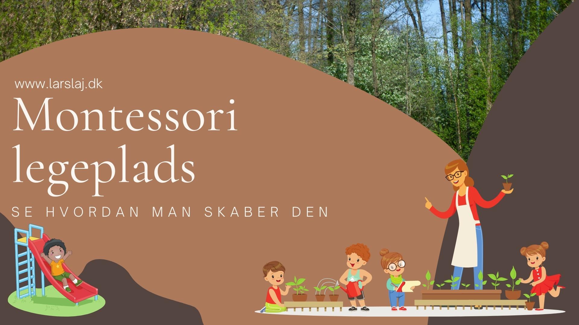 Montessori legepladser