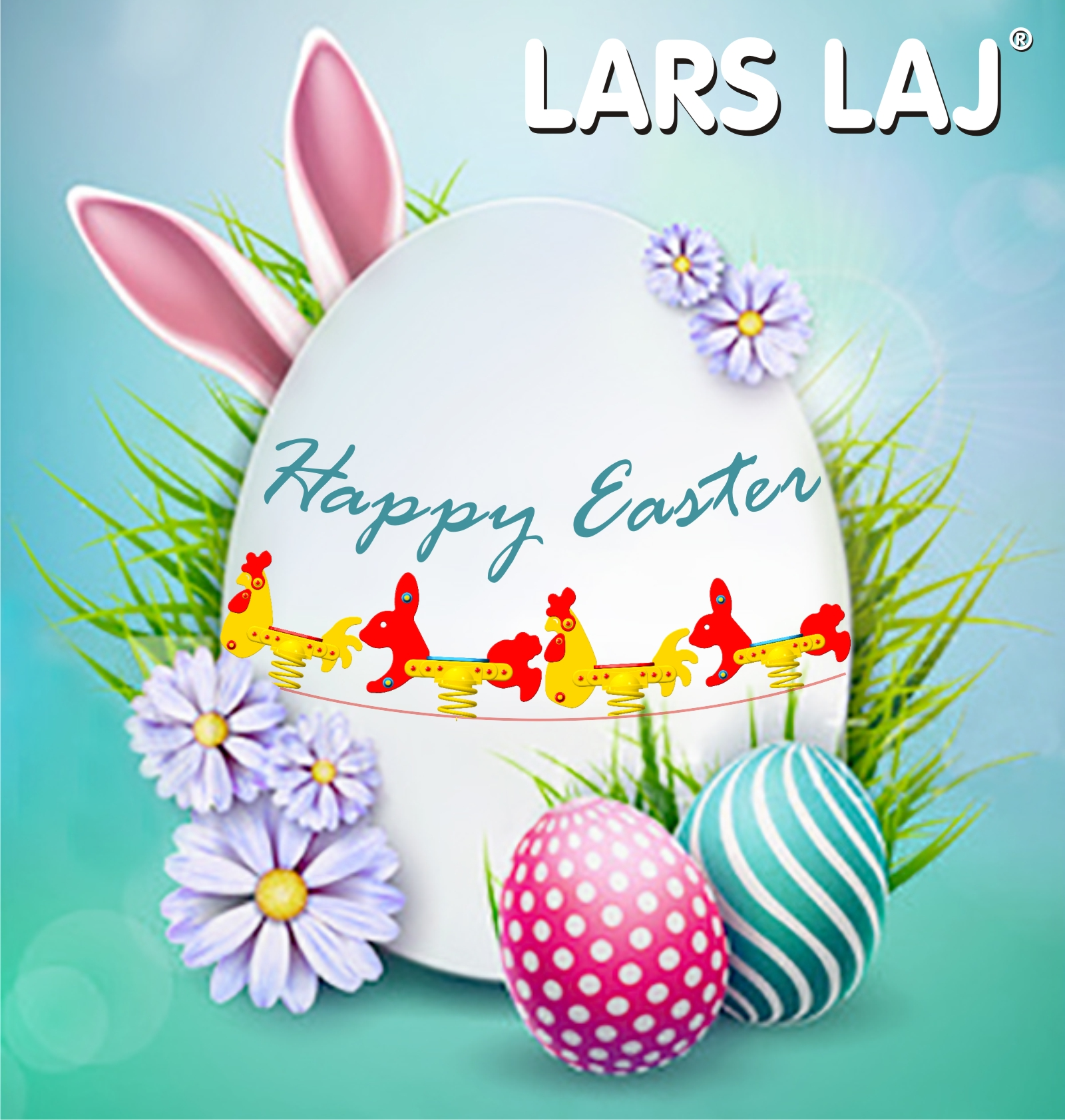 Lars Laj wishes you Happy Easter