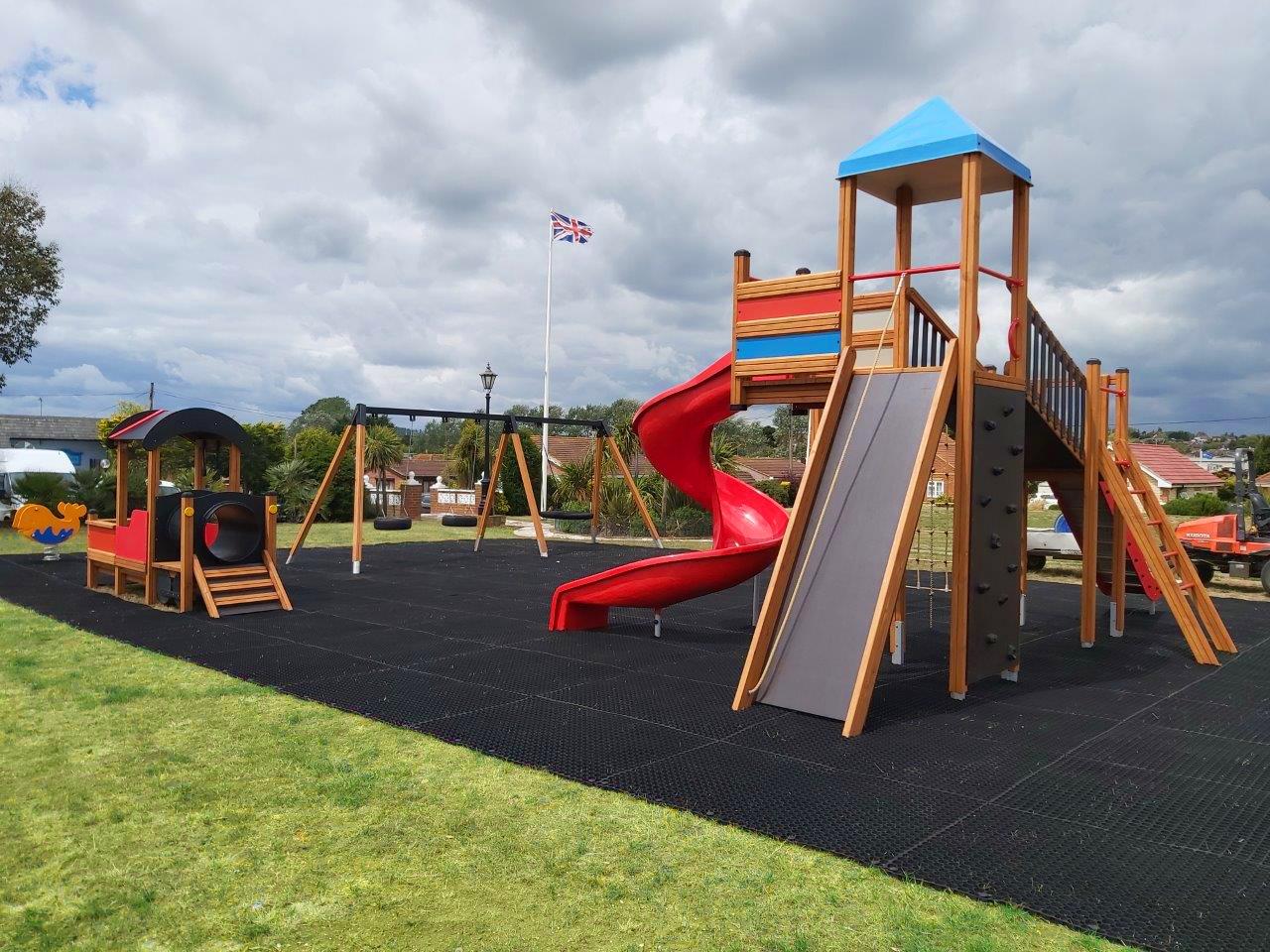 Lars Laj Playground in Saddlebrook Park