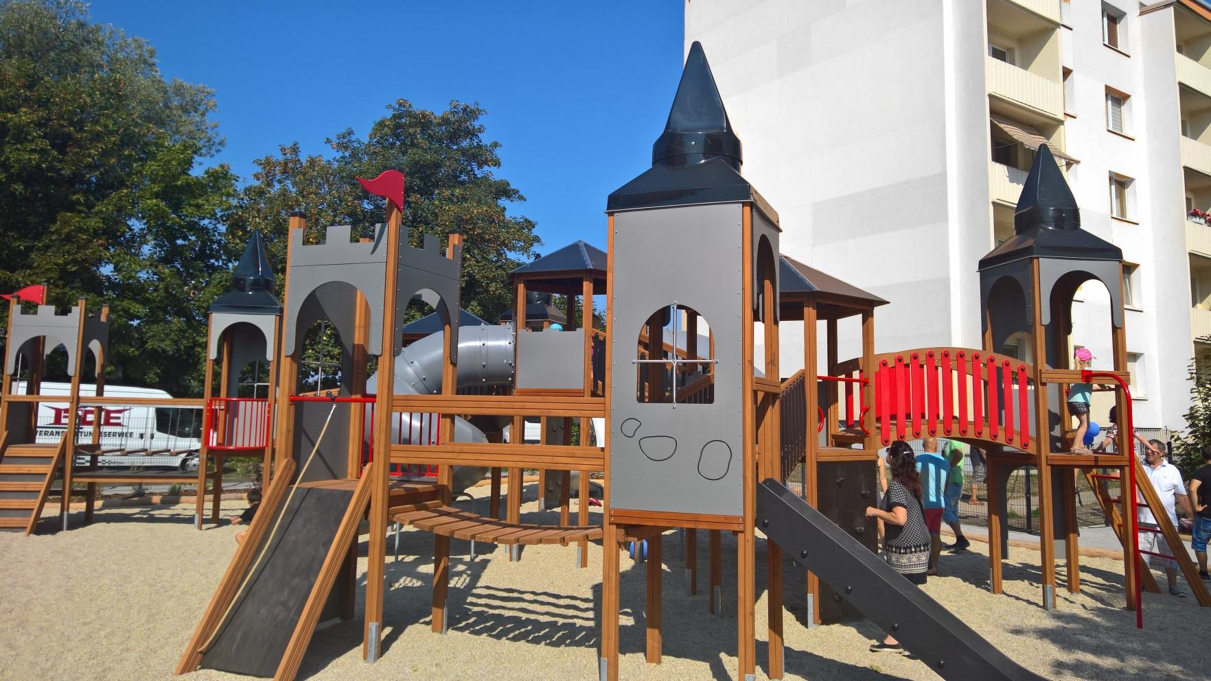 Kamenz Spielplatz Lars Laj DE