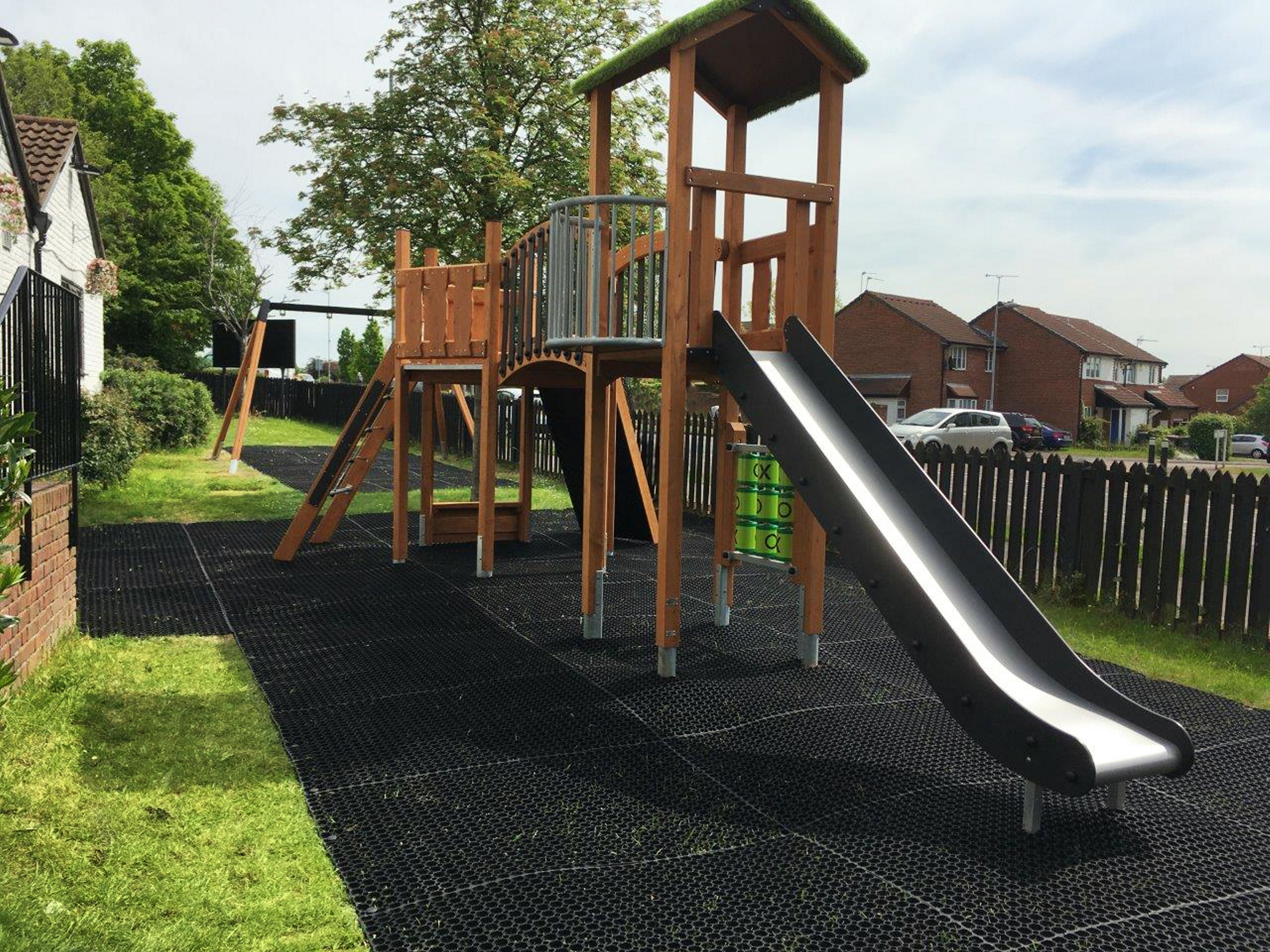 Lars Laj Playground in Bim & Crown Luton UK