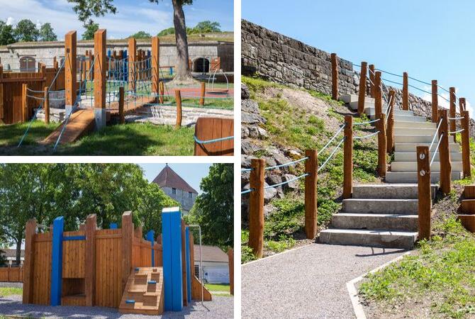 Lars Laj Playground Kuressaare Castle