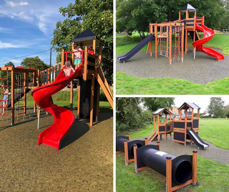 Lars Laj Playground in Ludgershall Village Green